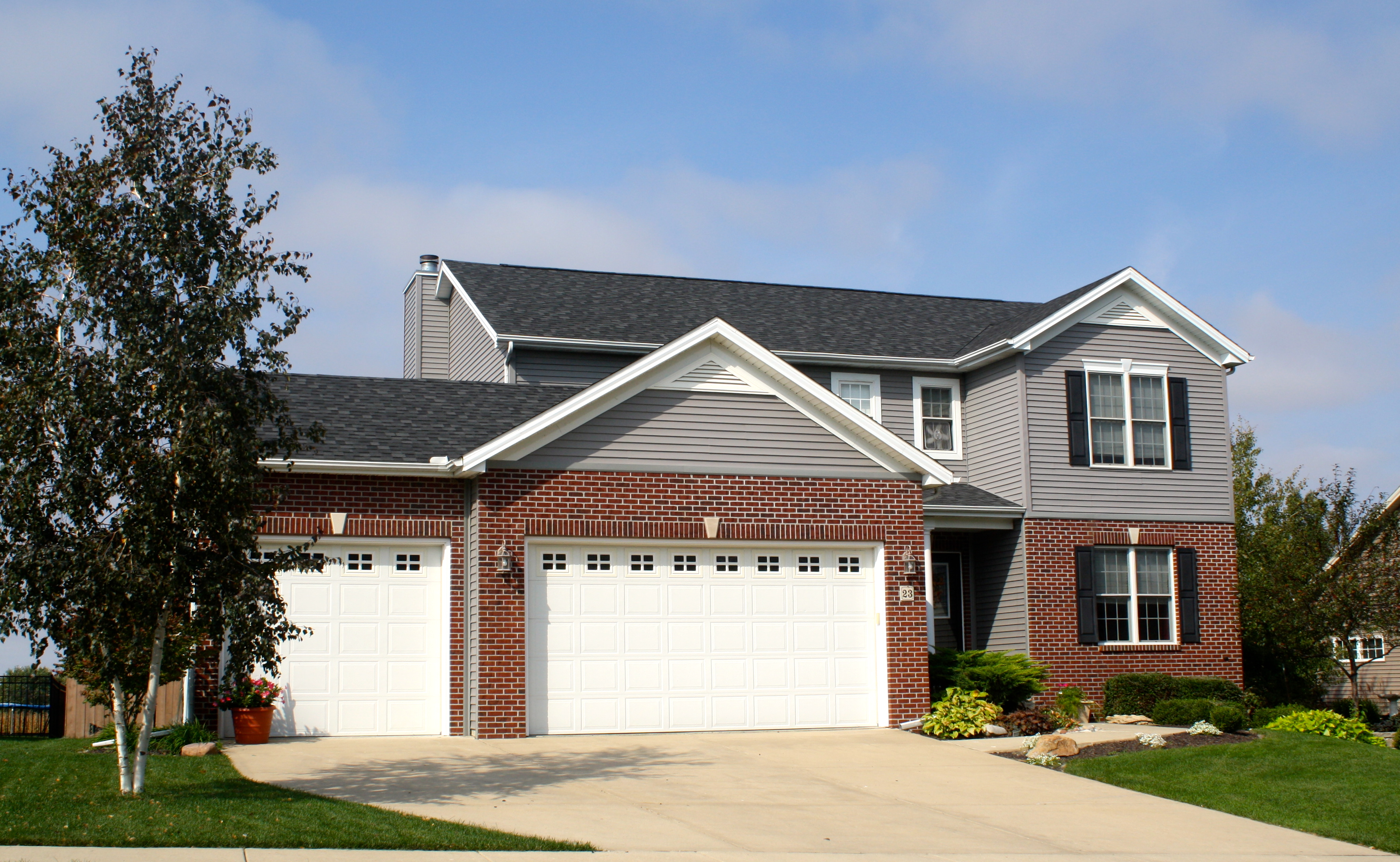 Properly Installed Roof Carlson Exteriors Inc
