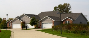 triplex home with brand new roof