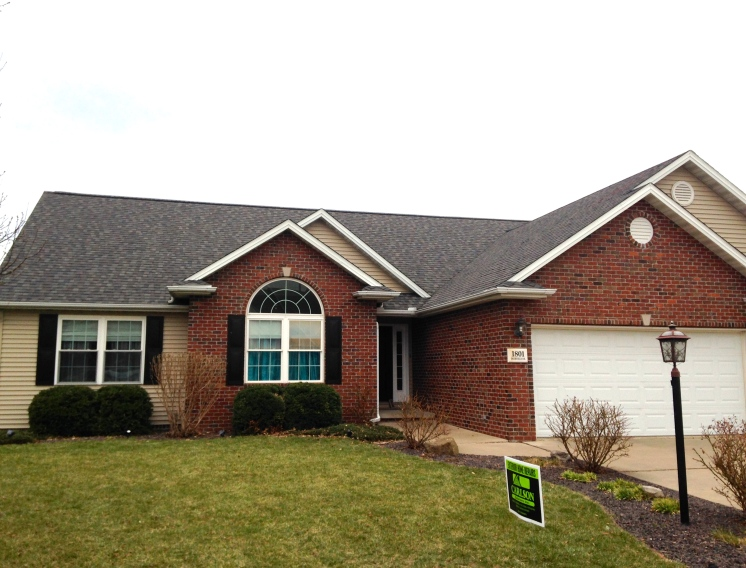 Morton Landmark Pro shingles in Driftwood Roof replacement