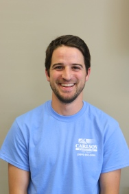 Carlson Exteriors Project Manager Caleb Dietrich