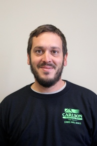 Carlson Exteriors roofing foreman