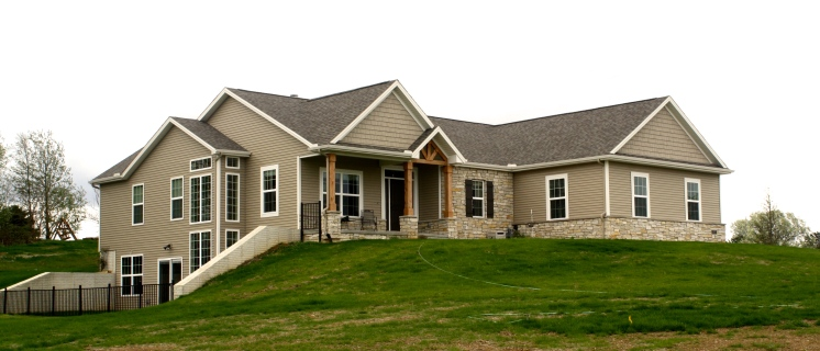 Brown Cedar Siding : Neutral siding combinations carlson exteriors inc