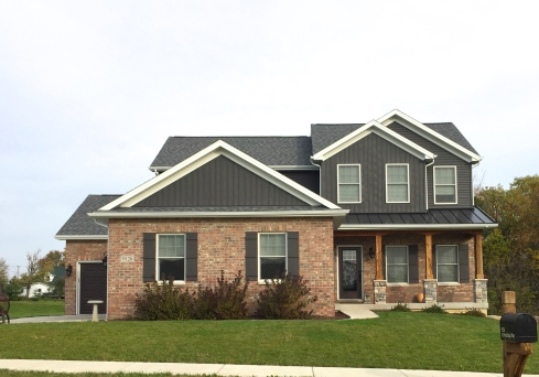 Ironstone Dark Grey Siding Carlson Exteriors Inc