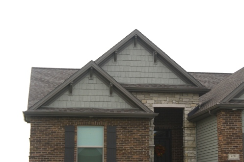 Weathered wood roofs carlson exteriors inc Gable accents