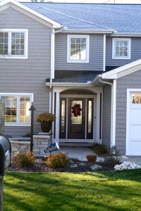 Harvard Slate Grey Vinyl Siding And Vinyl Shakes With