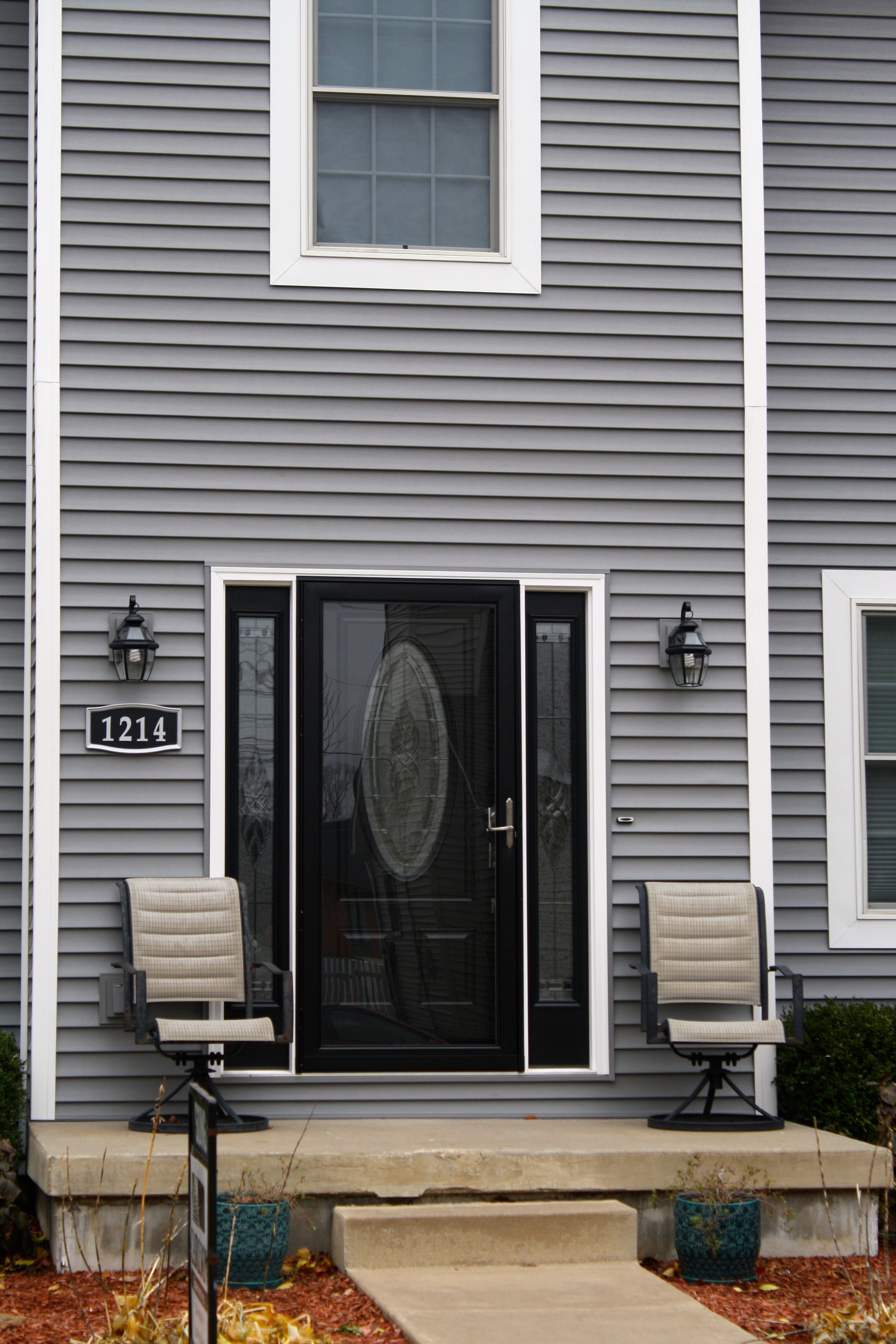 Thermatur Entry Door Repalcement With Side Lights In Normal