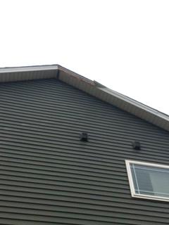 Fascia repair in normal il wind damaged siding