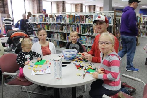 Kids having fun at Normal Public Library