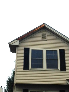 Missing fascia blown off from storm, fascia repair in normal il