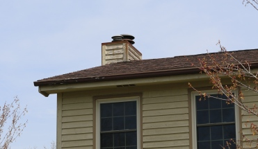 rusty chimney cap