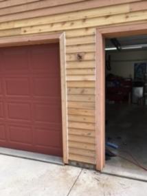 Cedar Siding repair in bloomington il