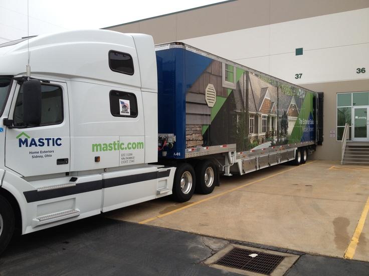 Mastic Semi Truck