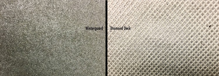 Winterguard and Diamond deck photo