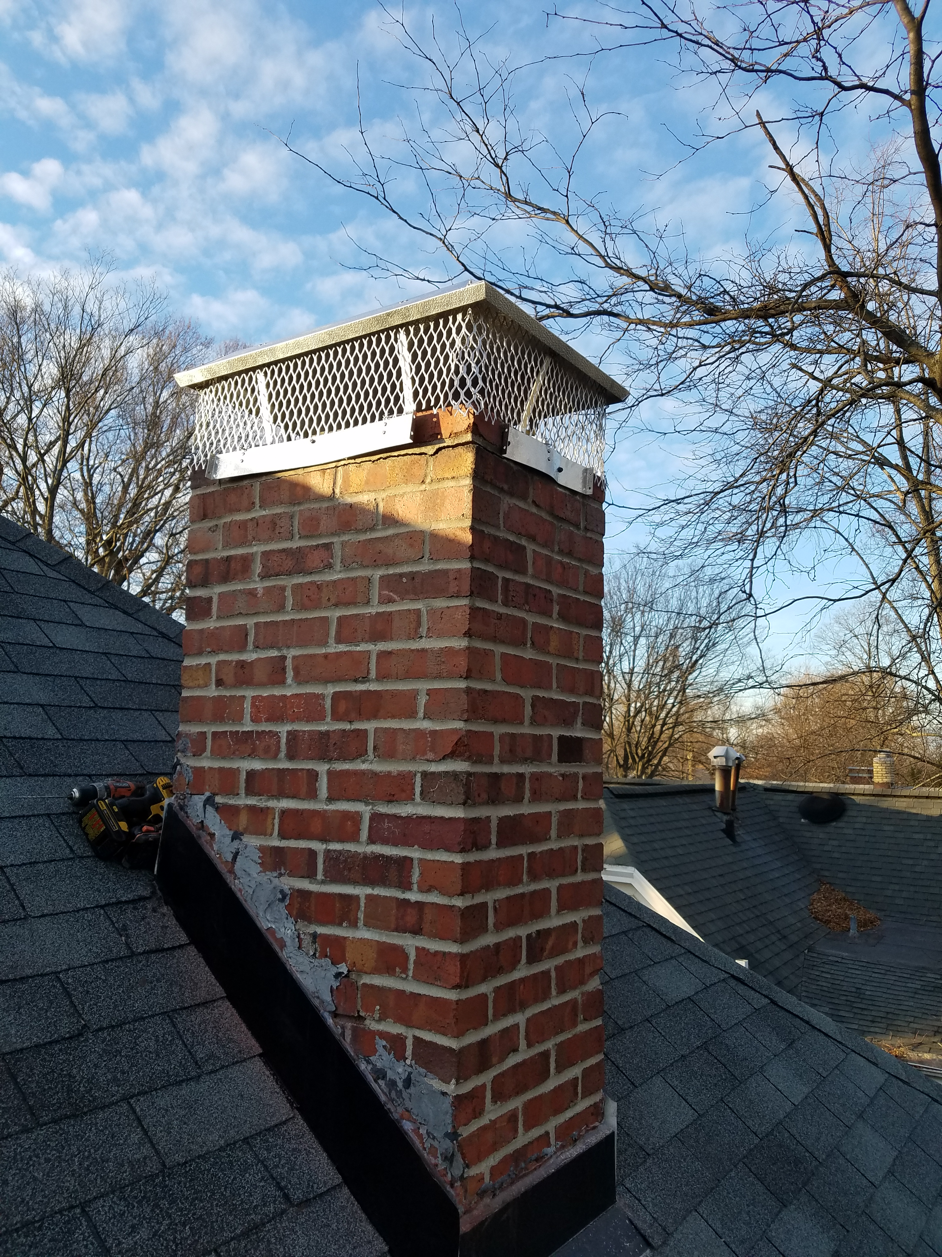 New Chimney Cap On A Home In Bloomington Il Carlson