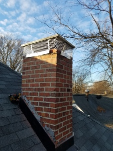 New Chimney Cap installed in Bloomington IL