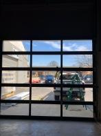 All Glass garage door replacement in bloomington il