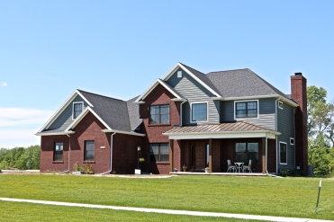 Brown Metal Accent Porch roof in Savoy, IL