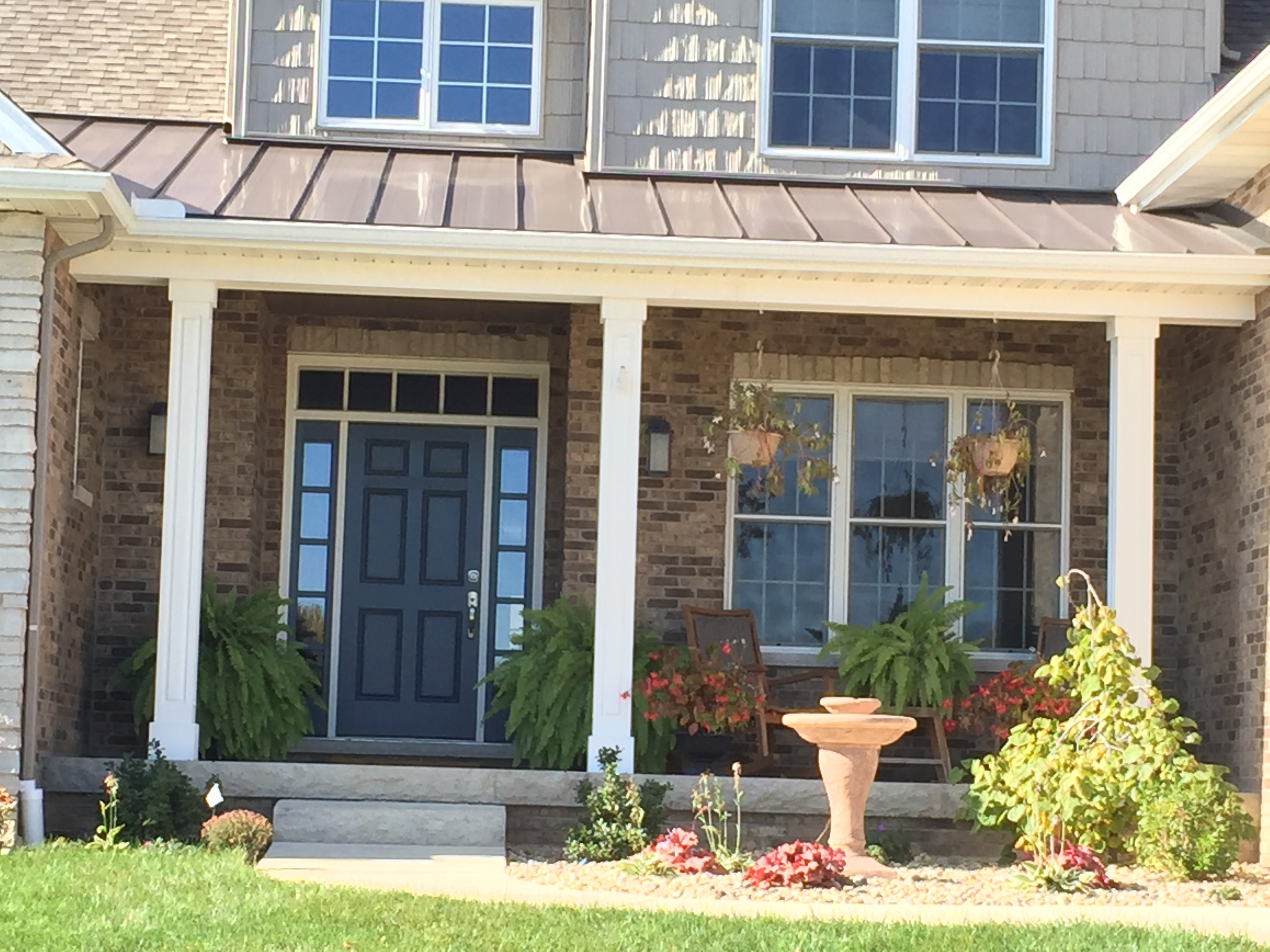 Peoria Il Metal Accent Roof Carlson Exteriors Inc