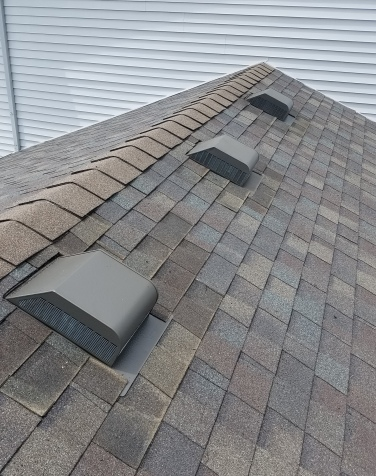 Example of a box vent on a roof
