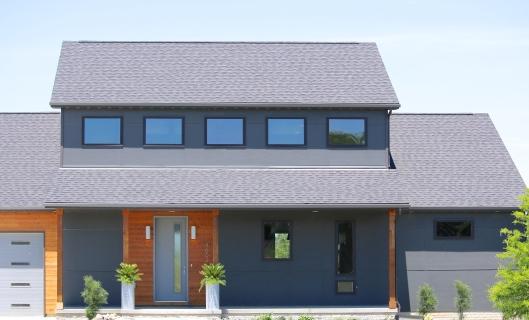 James Hardie Siding panels and real cedar siding in Heyworth Il